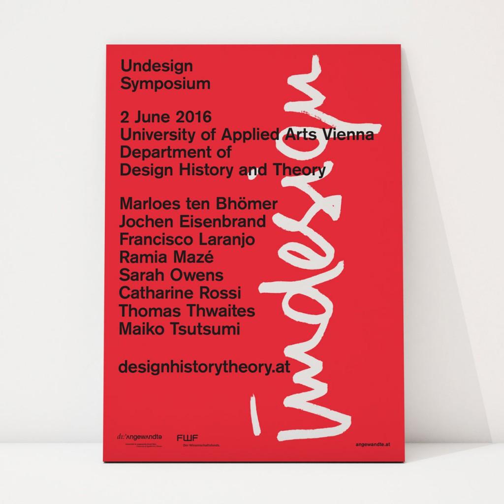 Undesign Symposium Poster
